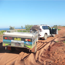 Camper Trailer Cape Leveque