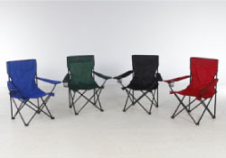Comfortable quad fold camping chairs